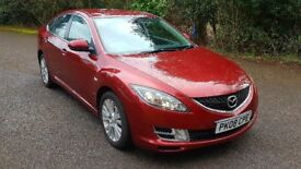 MAZDA 6 2.0 TS2 5dr AUTOMATIC 2008 (08 reg), HATCHBACK. ONLY 54,000 MILES !