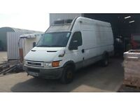 IVECO DAILY LWB 65C15,2004REG, FRIDGE/FREEZER VAN FOR SALE