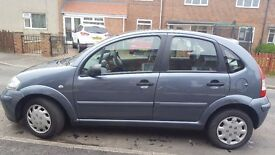 For sale my Citroen C3 76,000 miles on the clock tested till January 2018 with full service history