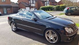 Mercedes Benz CLK 350 convertible low mileage 7G Automatic Paddle shift £6000 ONO service B at 81k