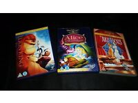 *Disney Classics Animation DVD Joblot Bundle 3*