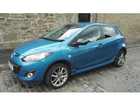 Mazda 2 Venture 2013, fsh, aircon, satnav, very attractive car