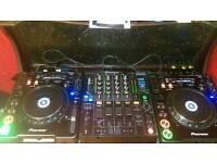 Pioneer CDJ 1000 Mrk 3 & DJM 800