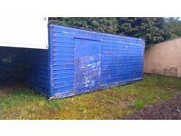 Aluminium site huts/sheds, cheap!