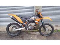 KTM SXF 250 2008 NOT CRF YZF RMZ KXF