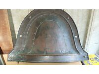 victorian fire hood solid copper abou 140years old