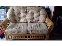 Withy conservatory sofa.