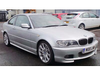 2004 54 BMW 320CD SPORT COUPE MOT 10/17 (CHEAPER PART EX WELCOME)PRIVATE PLATE INCLUDED