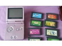 Pink Nintendo Gameboy