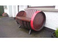 Bushmills Barrel Garden Seat