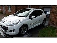 Peugeot 207 sportium 1.4 Low miles, recent MOT and FULL service, 1 prev owner - £4000 ovno