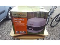 Potti Portable Toilet Camping Chemical Toilet - Adventuridge NEVER BEEN USED (IN THE BOX)