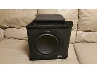 CAR ACTIVE SUBWOOFER VIBE SLICK 1200 WATT 12 INCH ENCLOSURE WITH AMPLIFIER BASS BOX SUB WOOFER