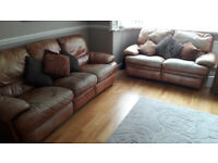 Leather Recliner Sofas for sale