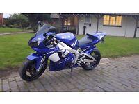 Yamaha Yzf R1 10040 miles 2001