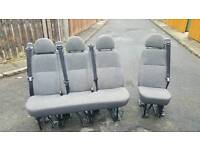 Ford transit rear seats crew cab