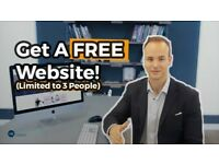 Offering FREE professionally designed Website (First 3 People)