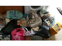 Car boot sale items designer bags baby boys clothes women's clothes ect