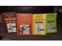 Dairy of a wimpy kid books