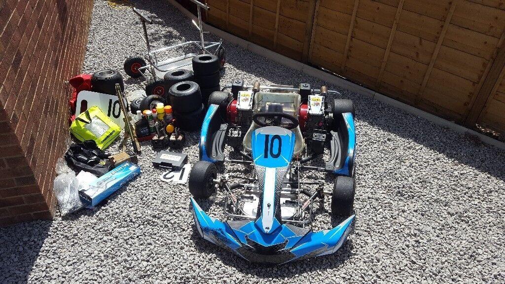 MS Pro Kart Race Package and IFor Williams Trailer   in Sherburn in Elmet,  West Yorkshire   Gumtree