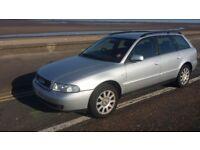 AUDI A4 Diesel estate 2001 TDI silver 209K Spares Repairs