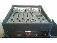 Complete DJ set. Numark CDN88 + Mixer, 1000w Amp, 4 Lights, 2 Speakers, JTS Mic, All Leads & Stands