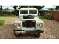 Classic Land Rover Series 3 Pre Defender and 90