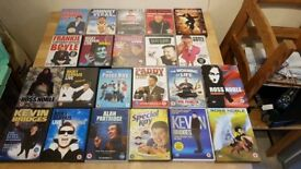 Mixed stand up dvds. 22 dvds