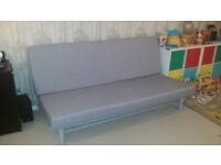 Three-seat sofa-bed BEDDINGE LÖVÅS rrp £220