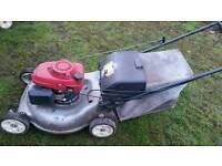 Honda engine lawn mowers x2