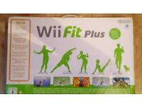 Wii Fit Console + Wii Fit Board + Mario Kat wheel + Games + controllers