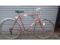 Vintage 5 speed bike For sale