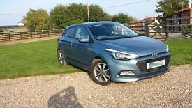 Huge £5,500 Price Cut from new - Hyundai i20 Prem 1.4 Auto3800m-reg to me 22 AUGUST 2016 £10,999