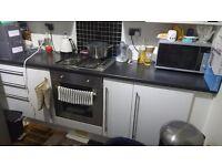 Kitchen furniture with appliances