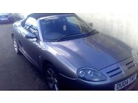convertible mg tf sport 04plate ..px