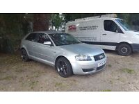 Audi A3 1.9 TDI red leather swap for land rover ect.