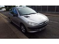 PEUGEOT 206 1.4 STARTS FIRST TIME EVERY TIME CHEAP TAX & INSURANCE VERY ECONOMICAL MOT BARGAIN £395