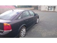 2003 , 1.8 petrol Vauxhall Vectra with full years mot.