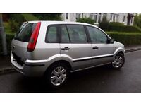 Ford fusion 1.6 5dr, good condition inside and out