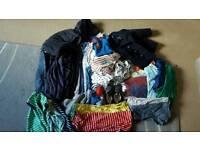 Boys baby clothes bundle