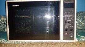 SHARP R959SLM Combination Microwave Oven - 40L