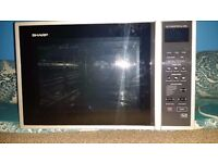 SHARP R959SLM Combination Microwave Oven - 40L