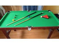 """Snooker table 4 foot 6"""""""