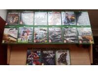 15x XBOX ONE GAMES (Pick and mix)