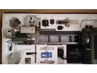 LATHE. BARGAIN NOT TO BE MISSED PROXXON PD400 COST NEW £2250
