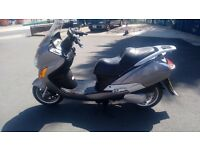 HYOSUNG MS3 125,2011,MOT TILL JAN ,9300 MILES,GOOD CONDITION N RUNNER