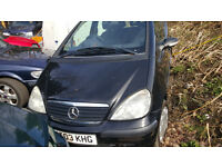 mercedes a140 automatic. most parts available. price is for one wheel nut