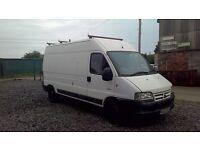 Citroen relay long wheelbase, high top, 2.3 turbo diesel van for spares or repairs.