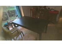 IKEA Bjursta 4/6/8/10 extending dining table. As new..