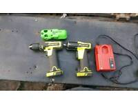 3/8 snap on impact gun and drill